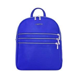 Modrý kožený batoh Lampoo Gurda