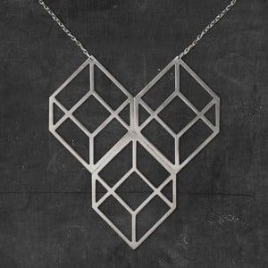 Náhrdelník Plato Silver z kolekce Geometry