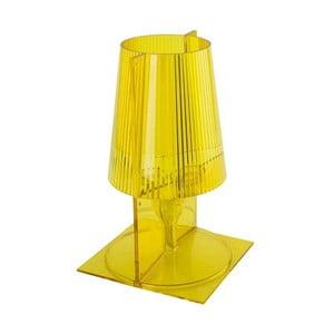 Lampička Take, žlutá