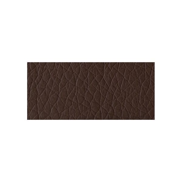 Čokoládově hnědá pohovka Modernist Serafino, pravý roh