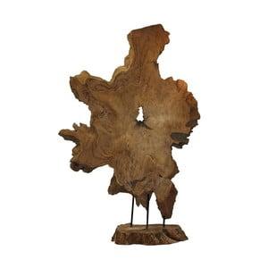 Dekorace z teakového dřeva HSM Collection Root