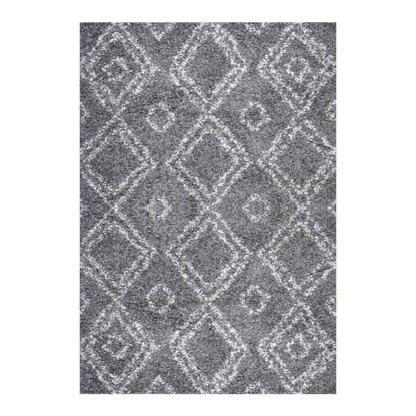 Koberec nuLOOM Zuzlo Grey, 160x228 cm