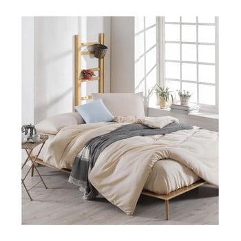 Lenjerie de pat cu cearșaf Permento Lesssno, 200 x 220 cm de la EnLora Home