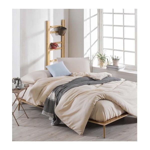 Lenjerie de pat cu cearșaf Permento Lesssno, 200 x 220 cm