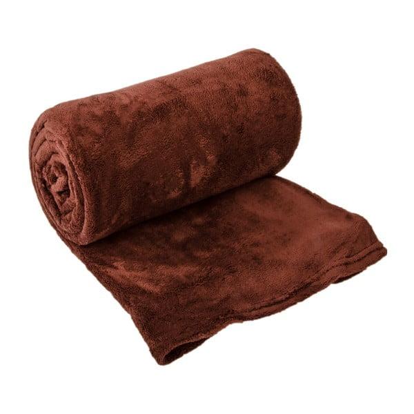 Přehoz na postel Sherpa Chocolate, 220x240 cm
