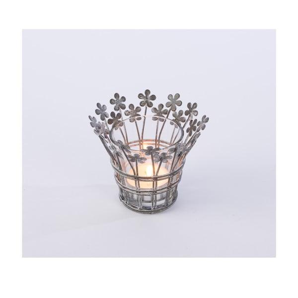 Kovový svícen Votive, 9x9 cm