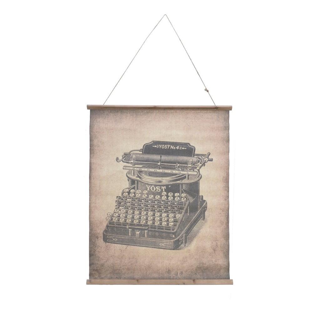 Nástěnná dekorace InArt Typewriter