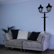 Samolepka na zeď Victorian Double Lamppost
