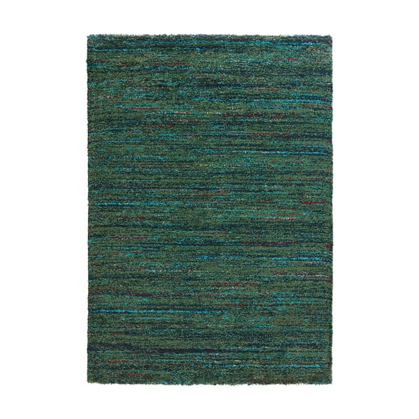 Zelený koberec Mint Rugs Nomadic, 80 × 150 cm