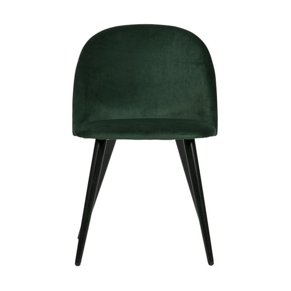 Set 2 scaune WOOOD Fay, verde închis