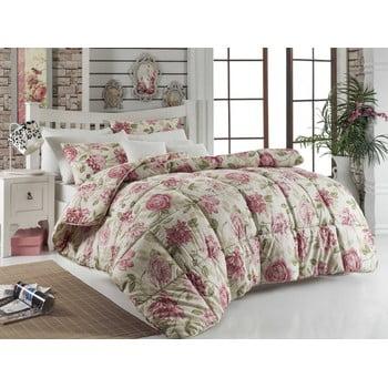 Cuvertură matlasată pentru pat matrimonial Care Pink, 195 x 215 cm imagine