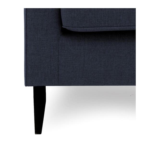 Canapea cu 3 locuri Vivonita Bond, albastru închis