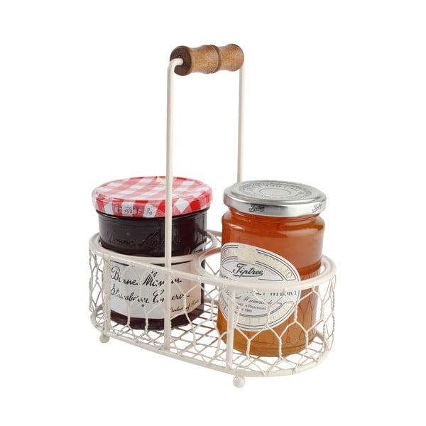 Kovová přenoska Provence Cream