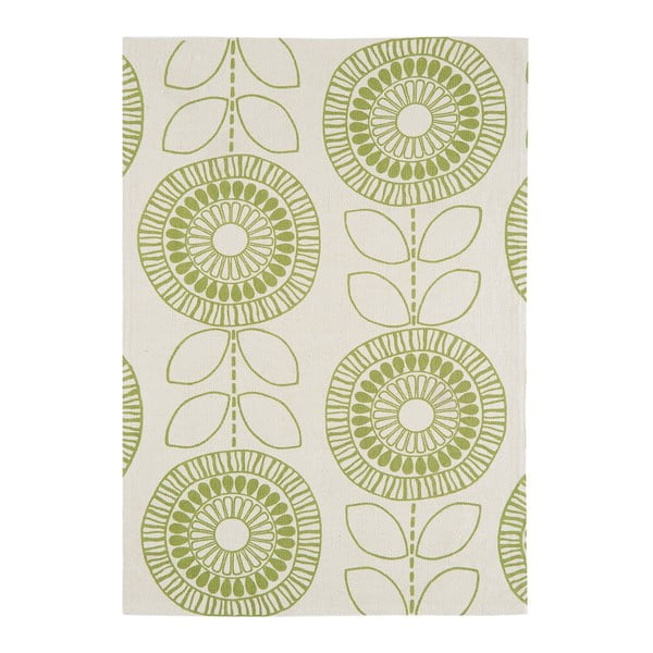 Koberex Asiatic Carpets Onix Flower Green, 120x170 cm