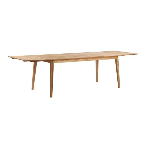 Masă din lemn de stejar Folke Mimi, lungime 180cm