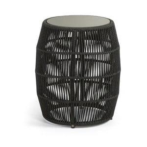 Măsuță de cafea La Forma Program, Ø 50 cm, negru