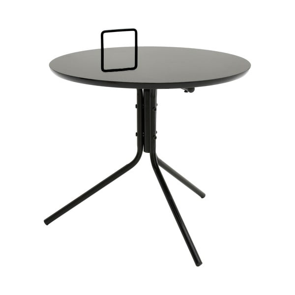 Černý odkládací stolek InArt Classico Grip