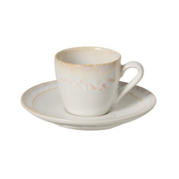 Biała kamionkowa filiżanka do kawy Casafina Taormina, 100 ml