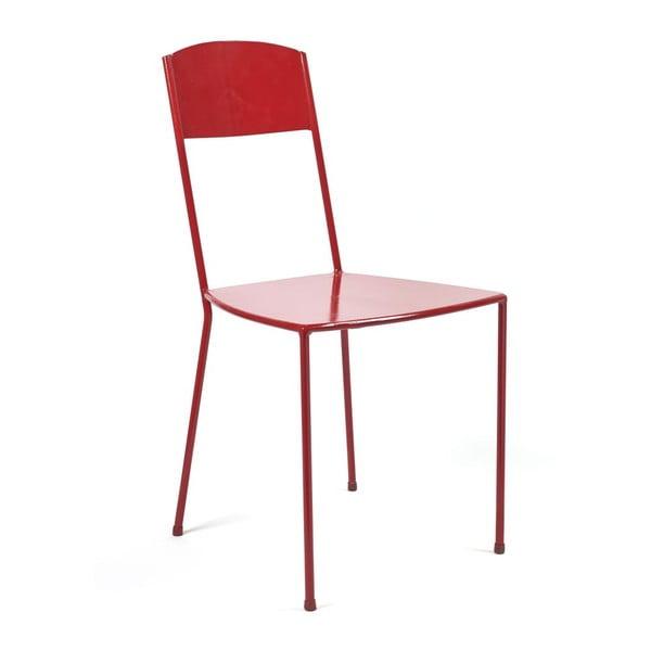 Červená židle Serax Adriana