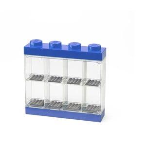 Modrá sběratelská skříňka na 8minifigurek LEGO®