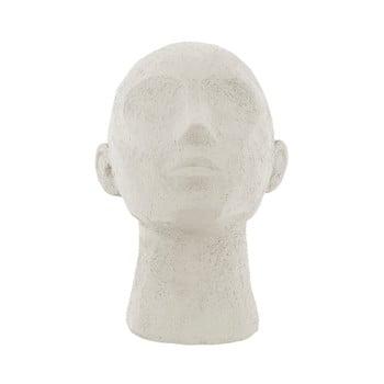 Statuetă decorativă PT LIVING Face Art, înălțime 22,8 cm, alb fildeș