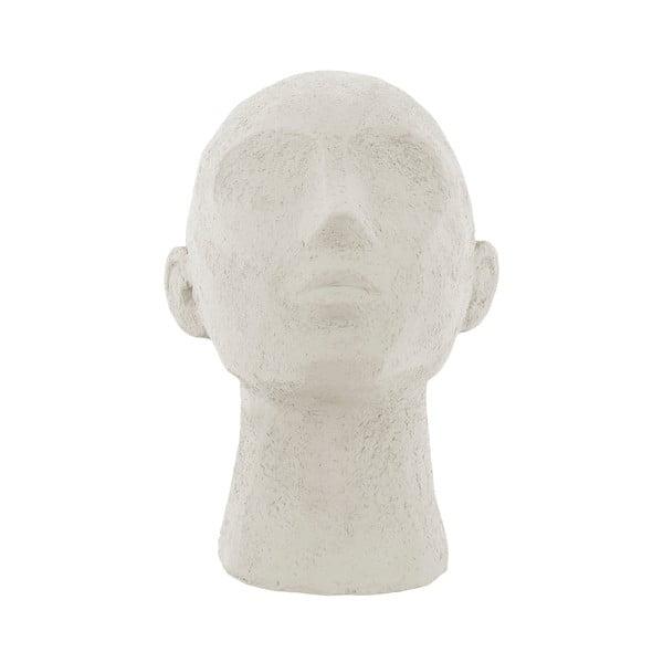 Face Art elefántcsont fehér szobor, magasság 22,8 cm - PT LIVING