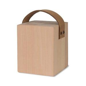 Zarážka dveří z bukového dřeva s koženým úchytem Garden Trading Kelston