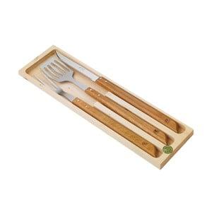 3dílná sada Jean Dubost Barbeque v dřevěném balení