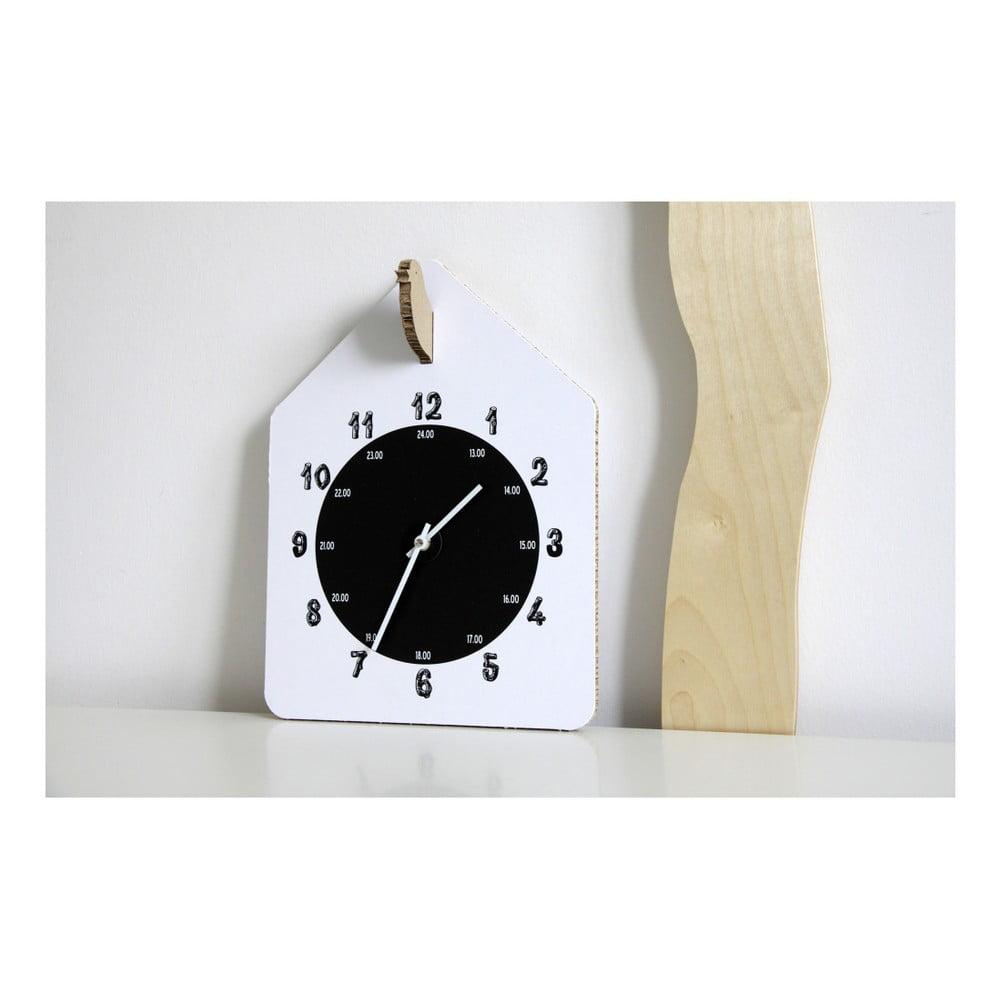 Bílé hodiny Unlimited Design For Children