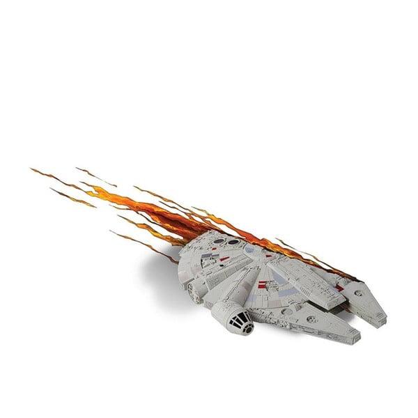 Nástěnné světlo s nálepkou Tnet Millennium Falcon