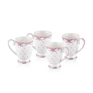 Set 4 căni The Mia Shabby Cera, 300 ml
