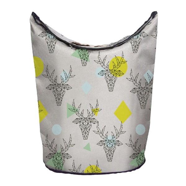 Koš na prádlo Geometric Deer