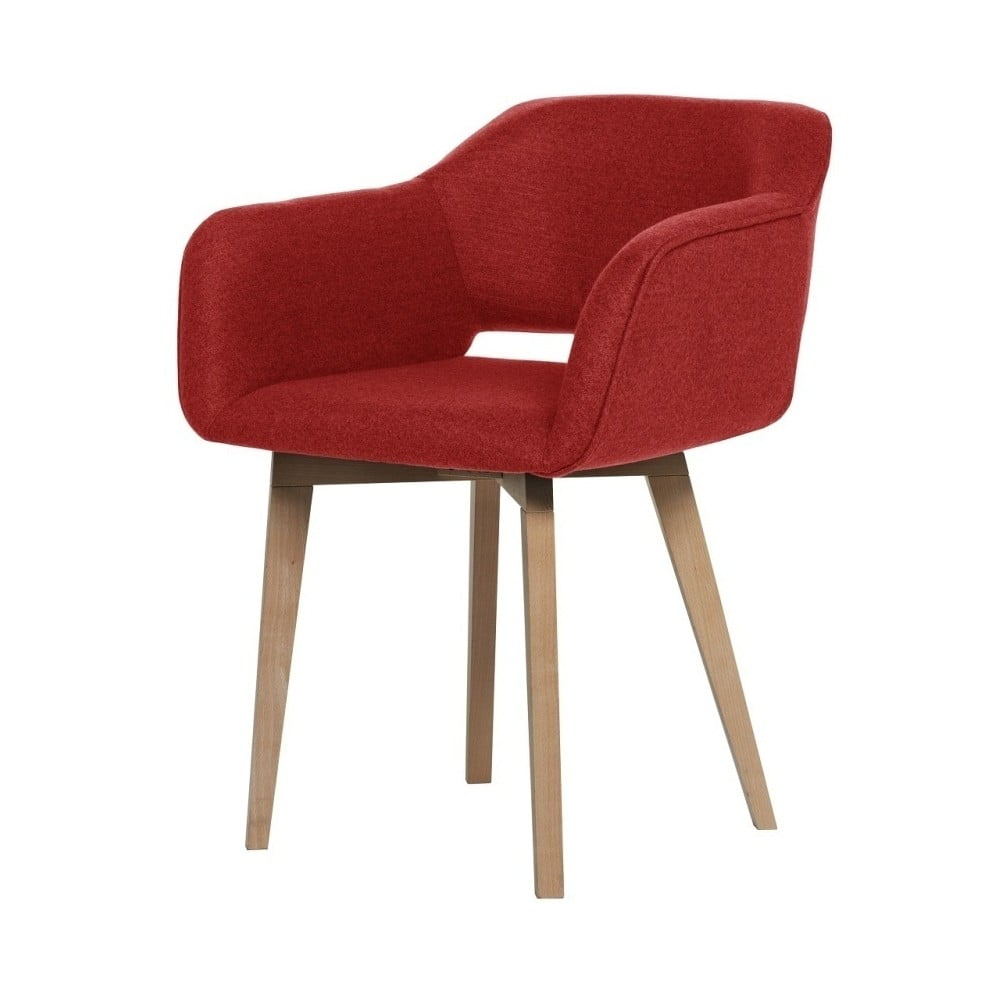 Červená jídelní židle My Pop Design Oldenburg