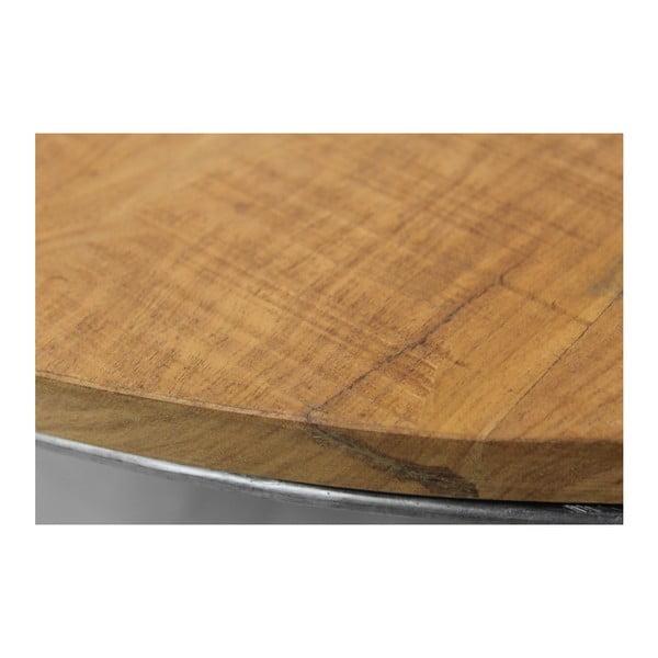 Konferenční stolek z recyklovaného dřeva a kovu HSM collection Pop
