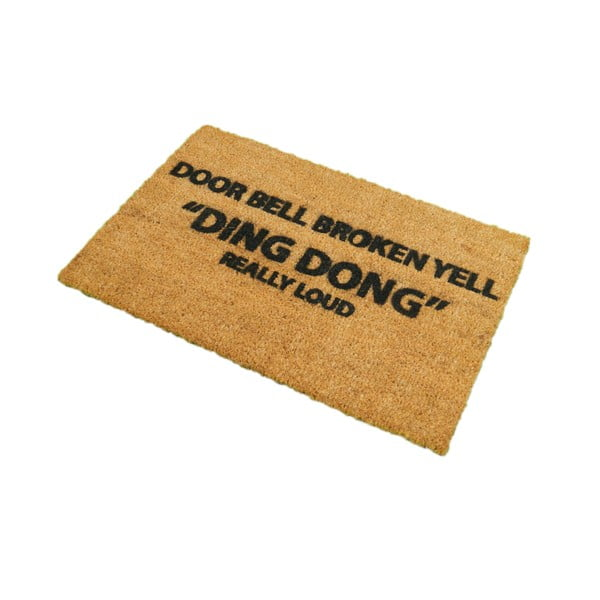 Rohožka Artsy Doormats Yell Ding Dong,40x60cm