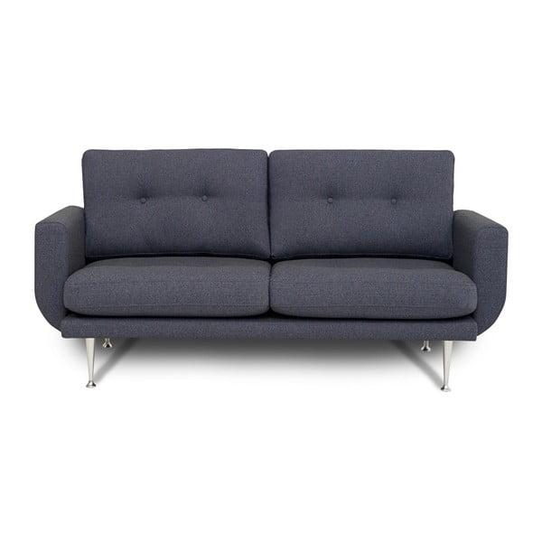 Fly kékesszürke kétszemélyes kanapé - Softnord