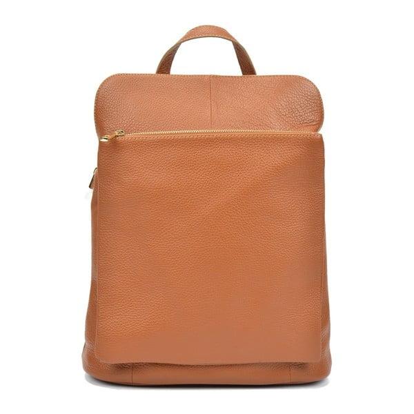 Brązowy plecak skórzany Isabella Rhea Carrie