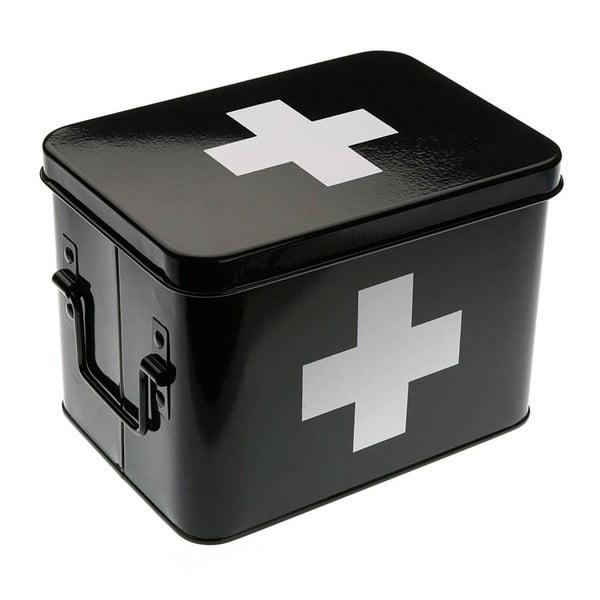 Lékarnička First Aid Black