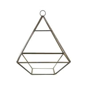 Piramidă suspendată pentru flori Sass & Belle Black Pyramid