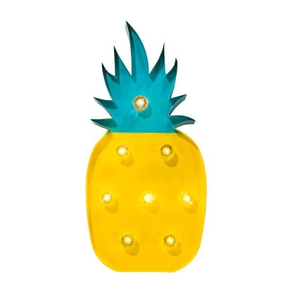 Svítící dekorace ve tvaru ananasu Talking Tables Fiesta