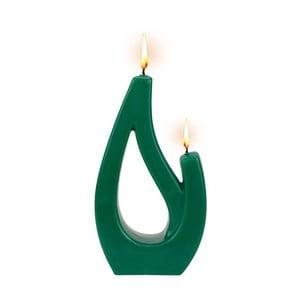 Zelená svíčka Alusi Saba Petit, 6hodin hoření