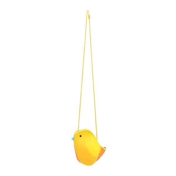 Oranžová neoprenová taška ve tvaru ptáčka Kori Kumi