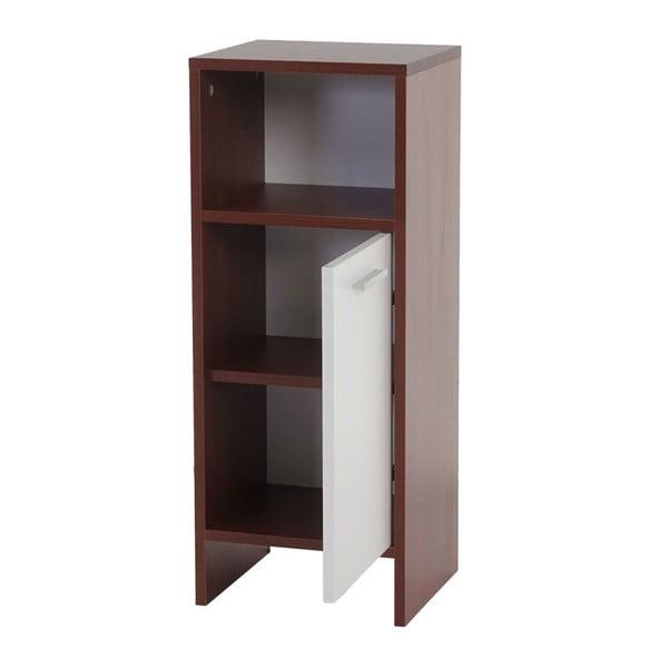 Koupelnová skříňka Sonoma Brown/White, 28x32x82 cm