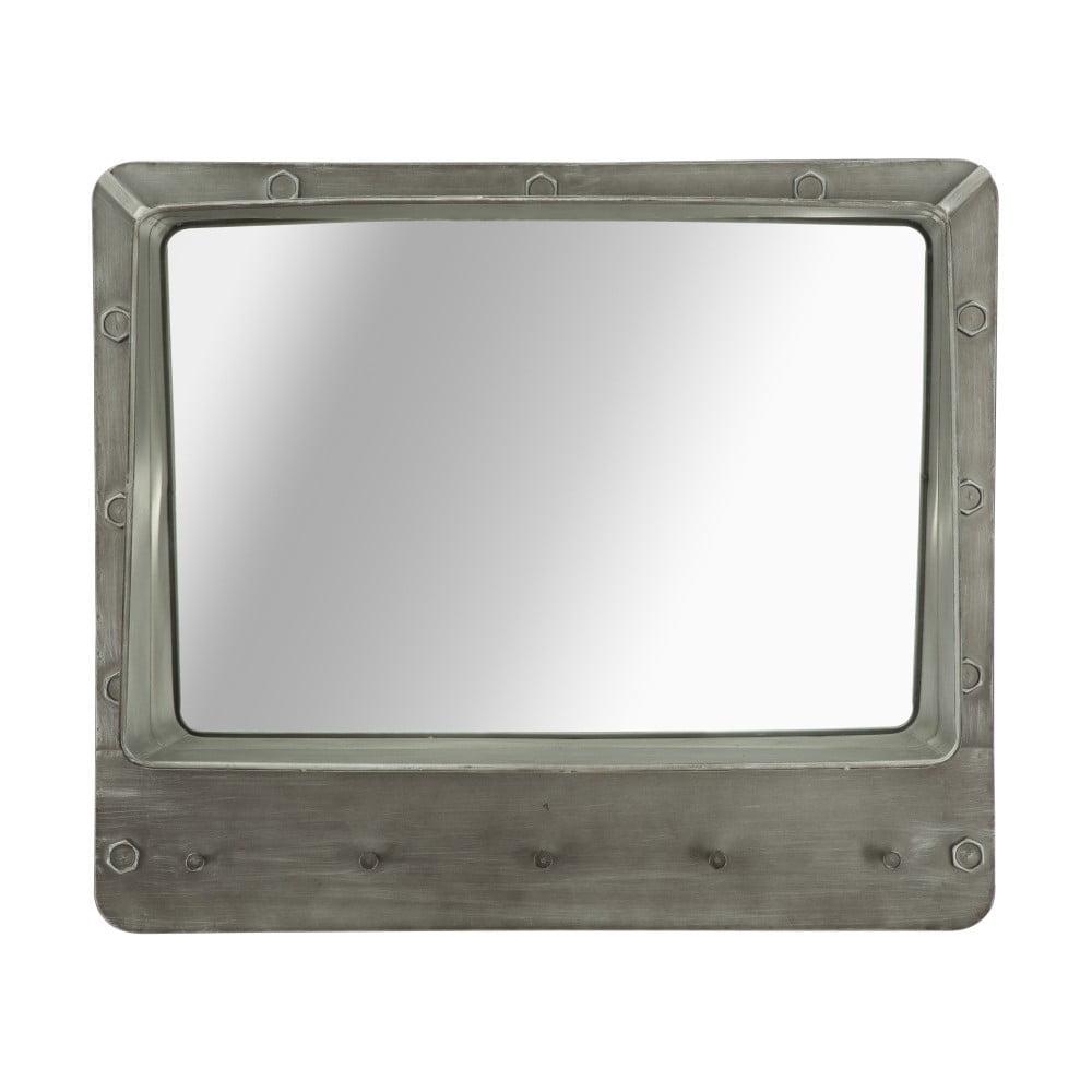 Nástěnné zrcadlo s úložným prostorem Mauro Ferretti Bolt, 70 x 60 cm Mauro Ferretti