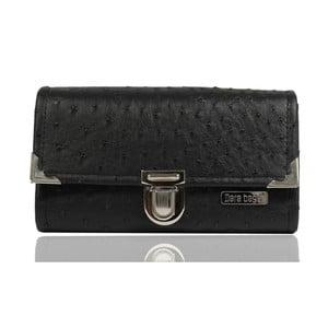 Černá peněženka Dara bags Purse Big No.299