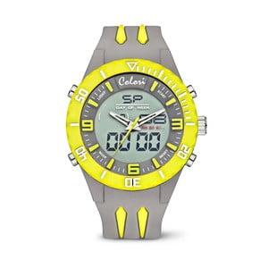 Hodinky Colori Anadigi 48 Neon Yellow