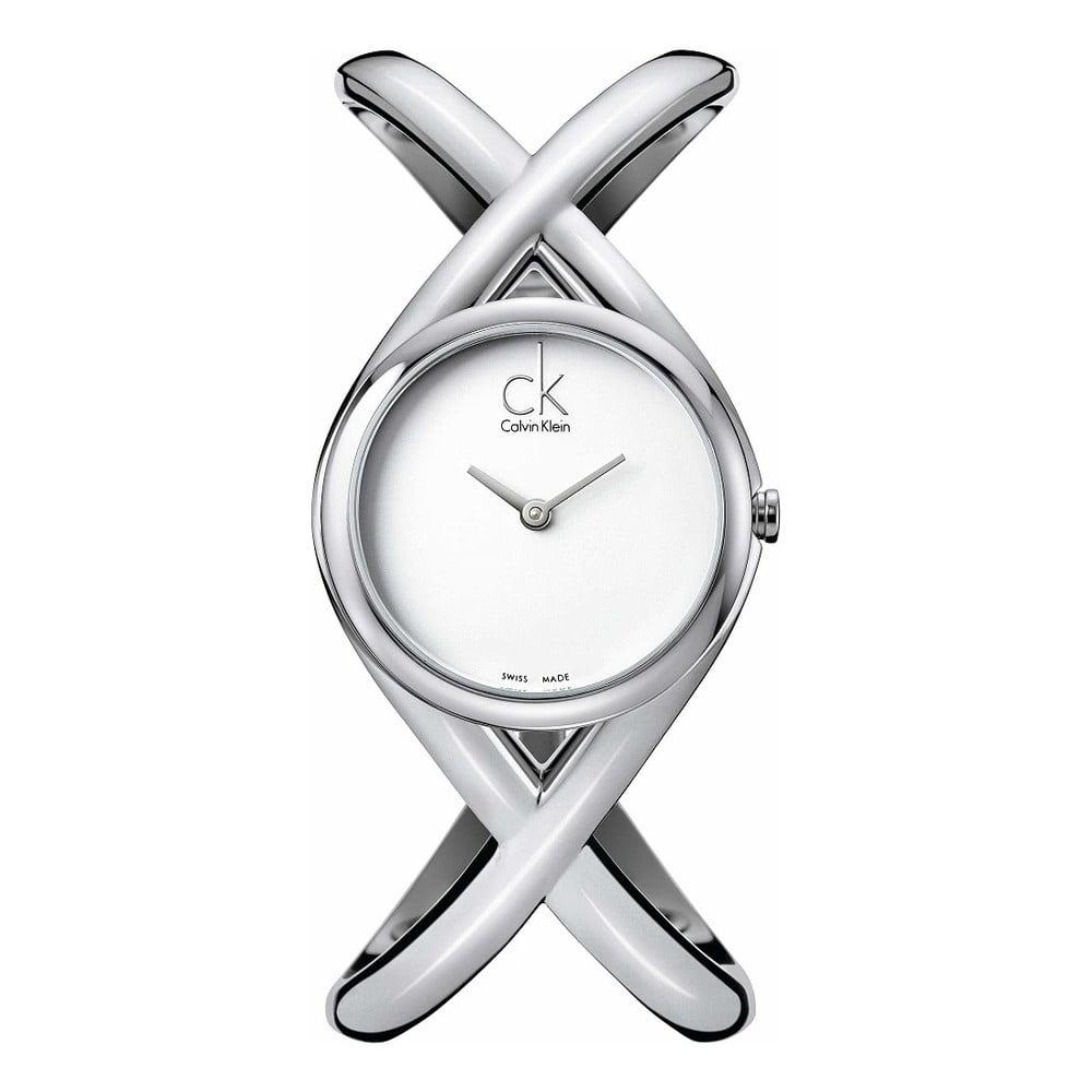 2fcb72fe89 Dámské stříbrné hodinky Calvin Klein