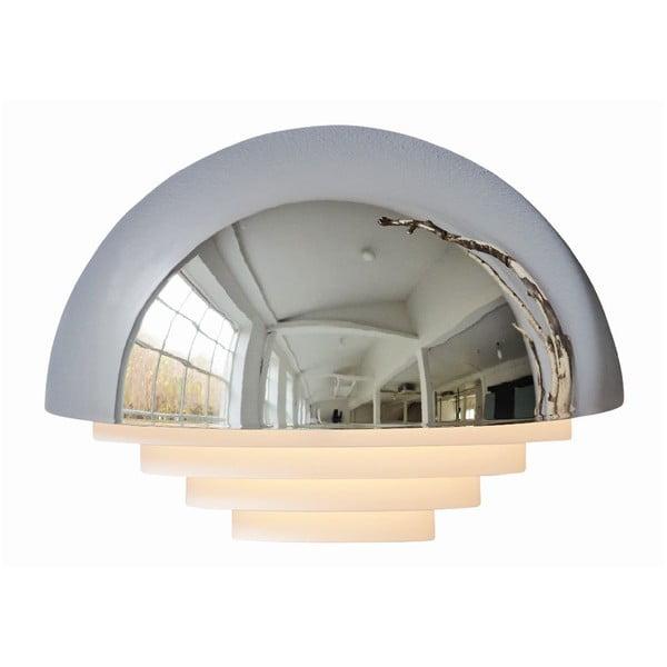 Stříbrné nástěnné světlo Herstal Motown