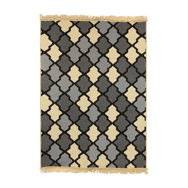 Modrý koberec Floorist Duvar Grey Beige, 120x180cm