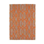 Vlněný koberec Matrix Wire Orange 120x170 cm